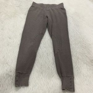 Anthropologie brown leggings size small